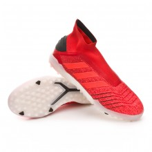 Zapatilla Predator Tango 19+ Turf Active red-Solar red-Core black