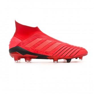 Bota  adidas Predator 19+ FG Active red-Solar red-Core black
