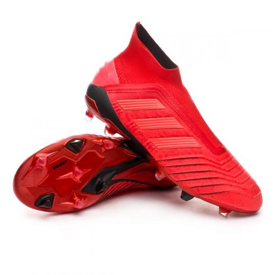 Bota de fútbol adidas Predator 19+ FG Active red-Solar red-Core black -  Soloporteros es ahora Fútbol Emotion a6ce8e0c8