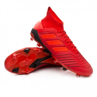 Bota  adidas Predator 19.1 FG Active red-Solar red-Core black