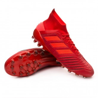 Bota  adidas Predator 19.1 AG Active red-Solar red-Core black