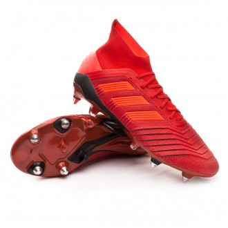 Bota  adidas Predator 19.1 SG Active red-Solar red-Core black