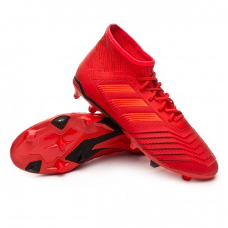 Boot  adidas Predator 19.2 FG Active red-Solar red-Core black