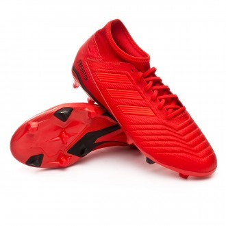 Boot  adidas Predator 19.3 FG Active red-Solar red-Core black