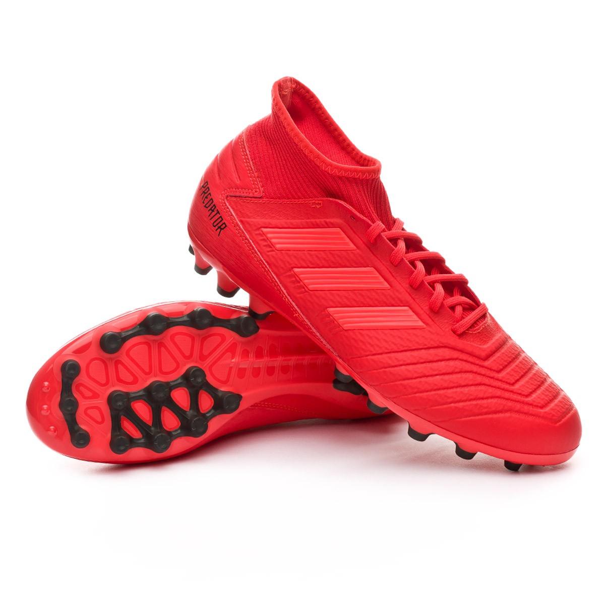 5d4e9dd5f7bc13 Scarpe adidas Predator 19.3 AG Active red-Solar red-Core black - Negozio di  calcio Fútbol Emotion