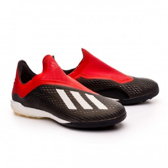 Zapatilla  adidas X Tango 18+ Turf Core black-White-Active red
