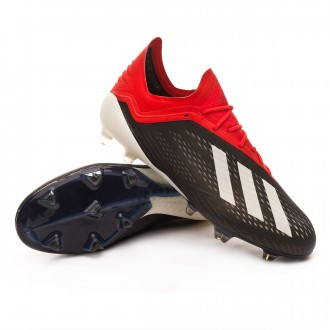 Scarpe   adidas X 18.1 FG Core black-White-Active red