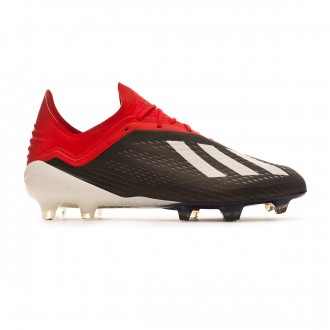 Football Boots  adidas X 18.1 FG Core black-White-Active red
