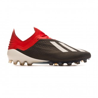 Football Boots  adidas X 18.1 AG Core black-White-Active red