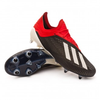 Bota  adidas X 18.1 SG Core black-White-Active red
