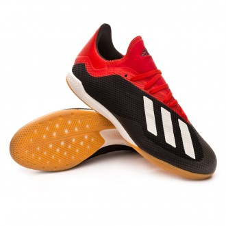Zapatilla  adidas X Tango 18.3 IN Core black-Off white-Active red