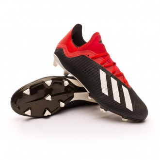 Bota  adidas X 18.3 FG Core black-Off white-Grey four
