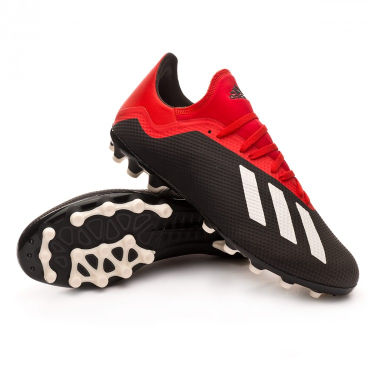 Boot adidas X 18.3 AG Core black-Off white-Grey four - Leaked soccer de2ff9466781a