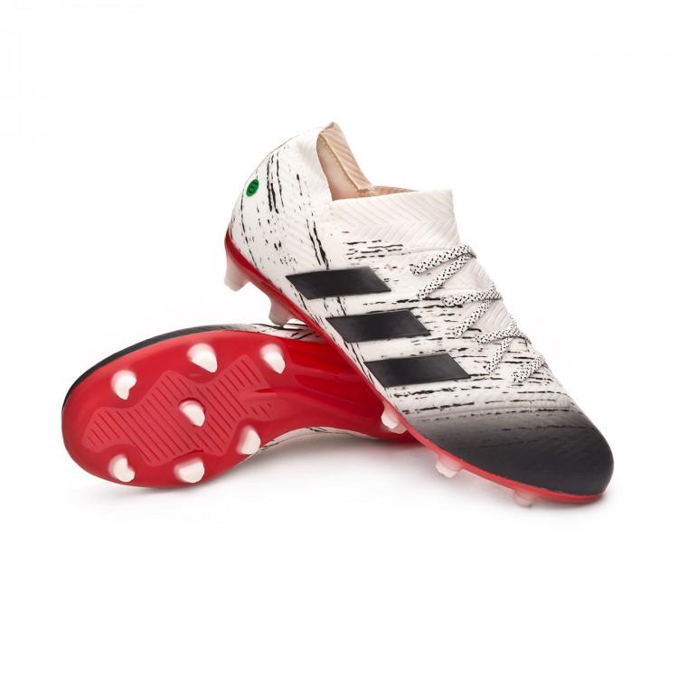 adidas enfant Core Off FG foot 1 black white Nemeziz de Chaussure 18 v0wa0q