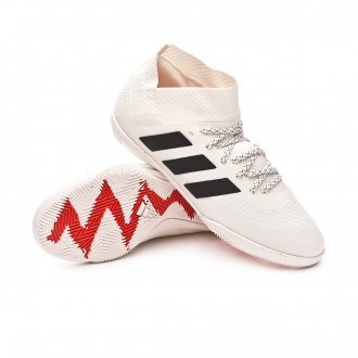 Zapatilla  adidas Nemeziz Tango 18.3 IN Niño Off white-Core black-Active red