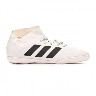 Chaussure de futsal  adidas Nemeziz Tango 18.3 IN Niño Off white-Core black-Active red