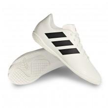 Chaussure de futsal Nemeziz 18.4 IN enfant Off white-Core black-Active red