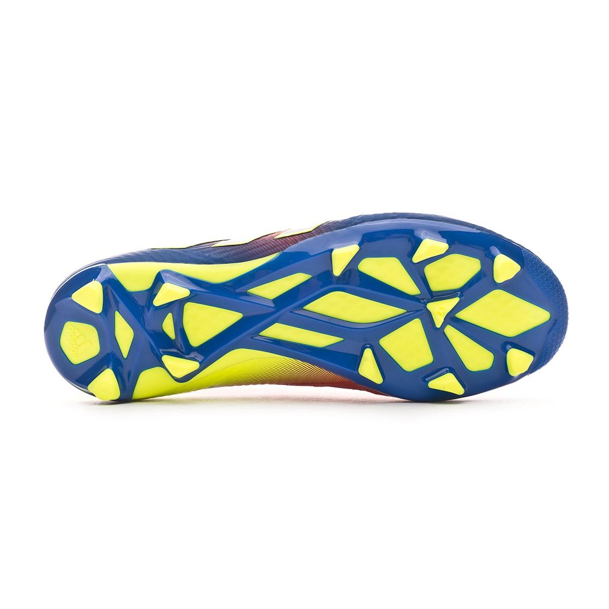 atractivo Zapatos antideslizantes Araña de tela en embudo  Bota de fútbol adidas Nemeziz Messi 18.1 FG Niño Active red-Silver  metallic-Football blue - Tienda de fútbol Fútbol Emotion