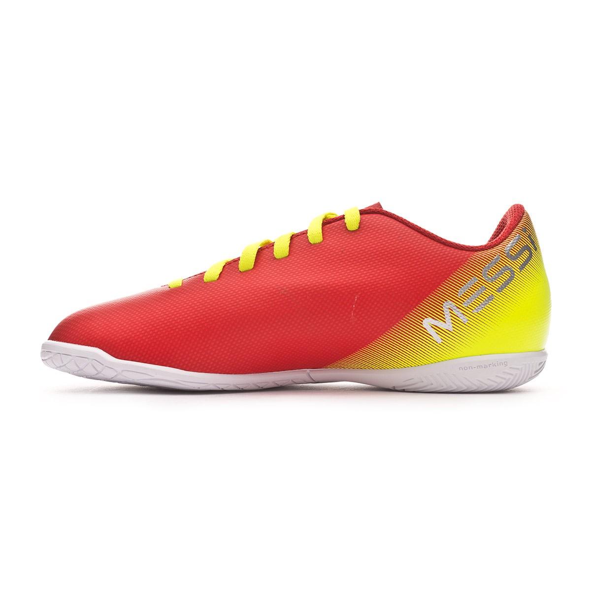 ab9bfbb161af5 Tenis adidas Nemeziz Messi Tango 18.4 IN Niño Active  red-Silberfoil-Football blue - Tienda de fútbol Fútbol Emotion