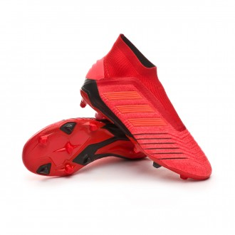 Kids Predator 19+ FG Active red-Solar red-Core black