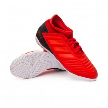 Chaussure de futsal Predator 19.3 IN enfant Active red-Solar red-Core black