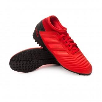 Football Boot  adidas Kids Predator Tango 19.3 Turf  Active red-Solar red-Core black