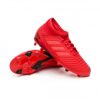 Boot  adidas Kids Predator 19.3 FG  Active red-Solar red-Core black