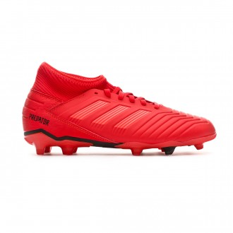 Football Boots adidas Kids Predator 19.3 FG Active red-Solar red-Core black