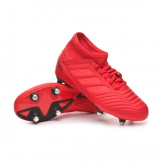 Boot  adidas Predator 19.3 SG Niño Active red-Solar red-Core black