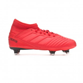 Bota  adidas Predator 19.3 SG Niño Active red-Solar red-Core black