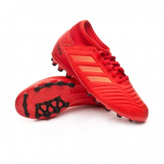 Boot  adidas Kids Predator 19.3 AG  Active red-Solar red-Core black