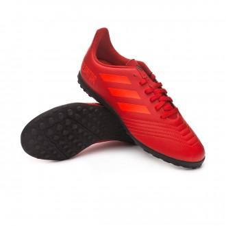 Football Boot  adidas Kids Predator Tango 19.4 Turf  Active red-Solar red-Core black