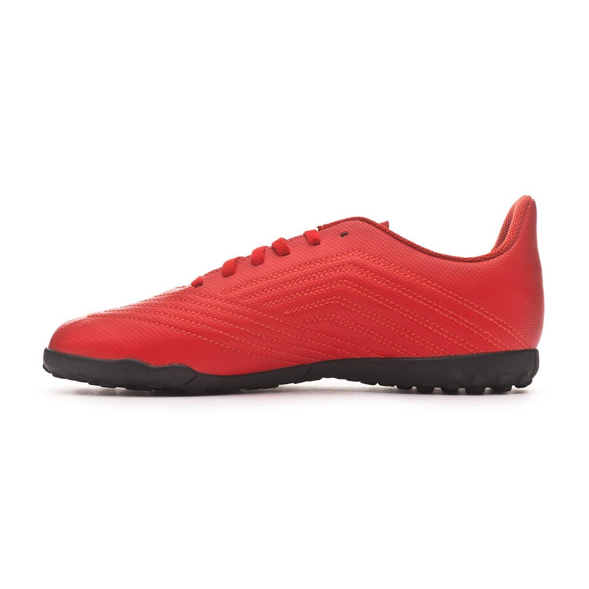 310074c8d6e2a Sapatilhas adidas Predator Tango 19.4 Turf Crianças Active red-Solar red-Core  black - Loja de futebol Fútbol Emotion