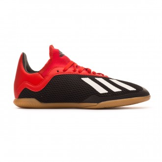 Zapatilla  adidas X Tango 18.3 IN Niño Core black-Off white-Active red