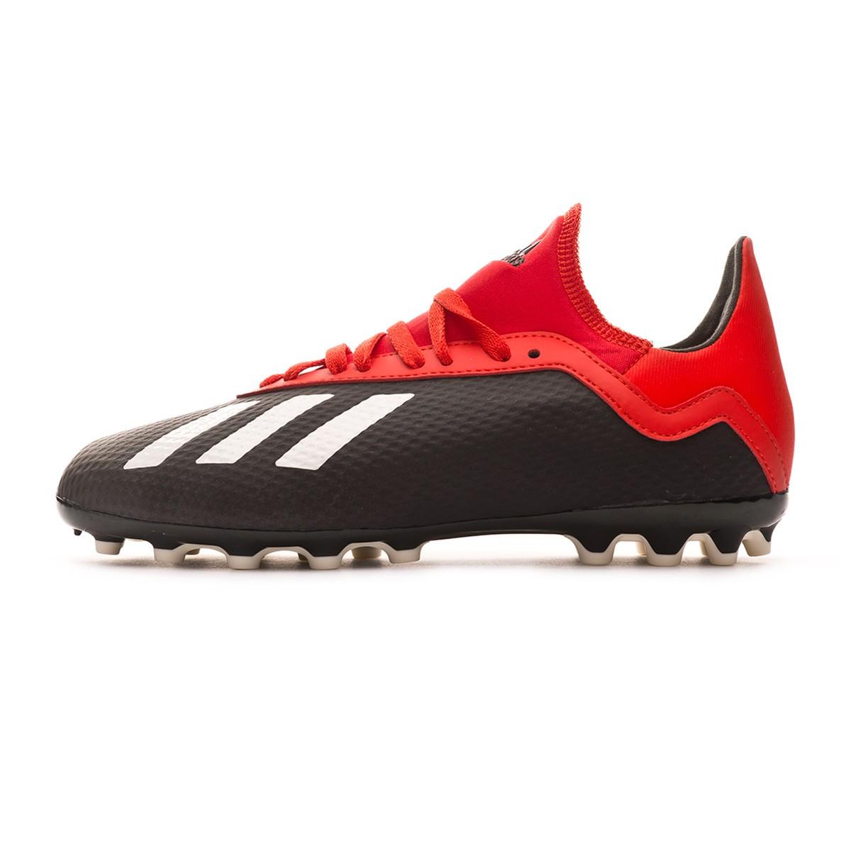 964c7332d Football Boots adidas Kids X 18.3 AG Core black-Off white-Grey four -  Tienda de fútbol Fútbol Emotion