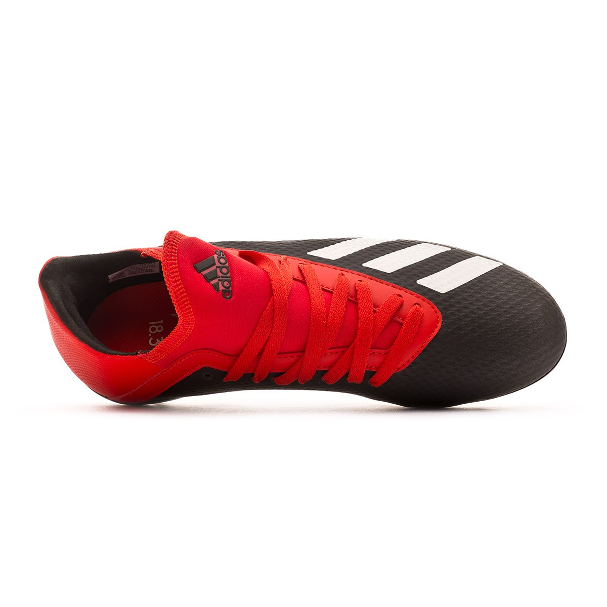 a720f944f Football Boots adidas Kids X 18.3 AG Core black-Off white-Grey four - Football  store Fútbol Emotion
