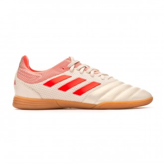 Zapatilla  adidas Copa 19.3 IN Sala Niño Off white-Solar red-Core black