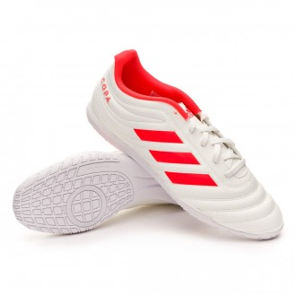 Futsal Boot  adidas Copa 19.4 IN Off white-Solar red-Off white