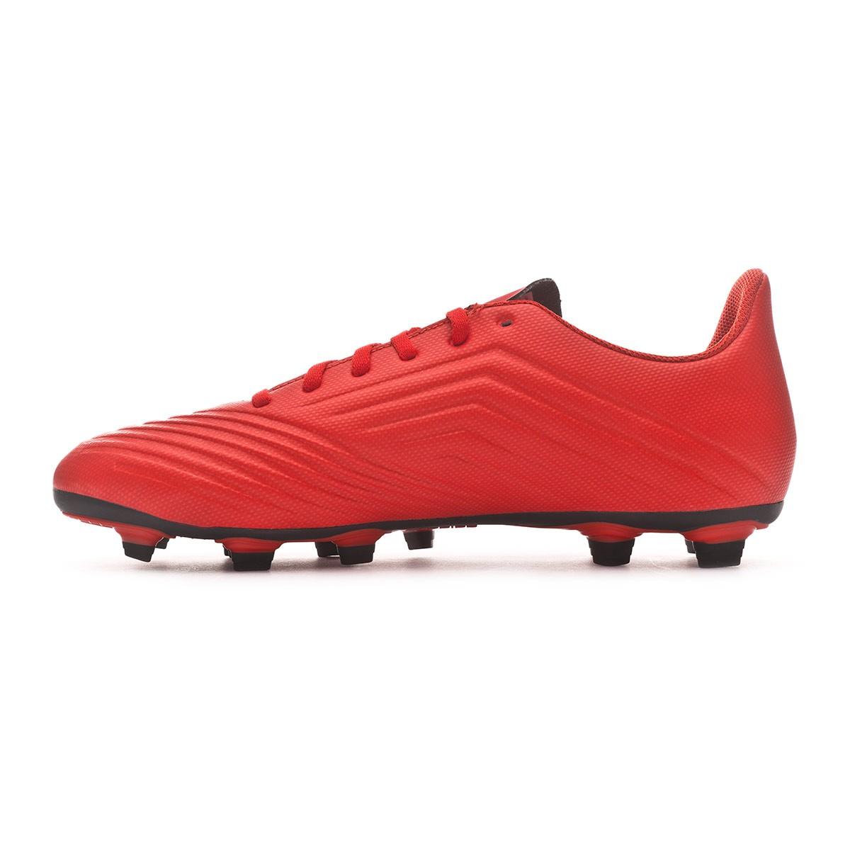 8b59f1ce7b9e0 Chuteira adidas Predator 19.4 FxG Active red-Solar red-Core black - Loja de  futebol Fútbol Emotion