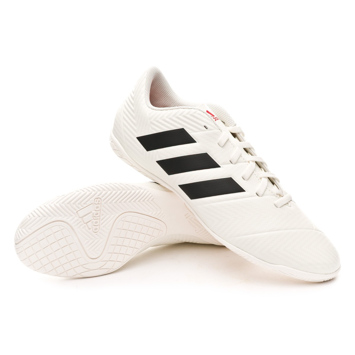 d194d4e80a9b7 Futsal Boot adidas Nemeziz Tango 18.4 IN Off white-Core black-Active ...