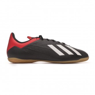 Scarpe adidas X Tango 18.4 IN Core black-Off white-Active red