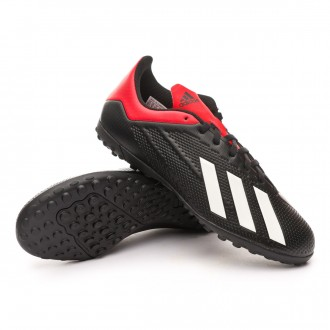 Zapatilla  adidas X Tango 18.4 Turf Core black-Off white-Active red