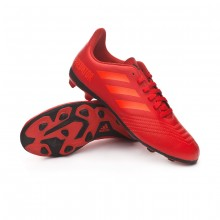 Football Boots Kids Predator 19.4 FxG Active red-Solar red-Core black