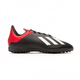 Football Boot adidas Kids X Tango 18.4 Turf Core black-Off white-Active red