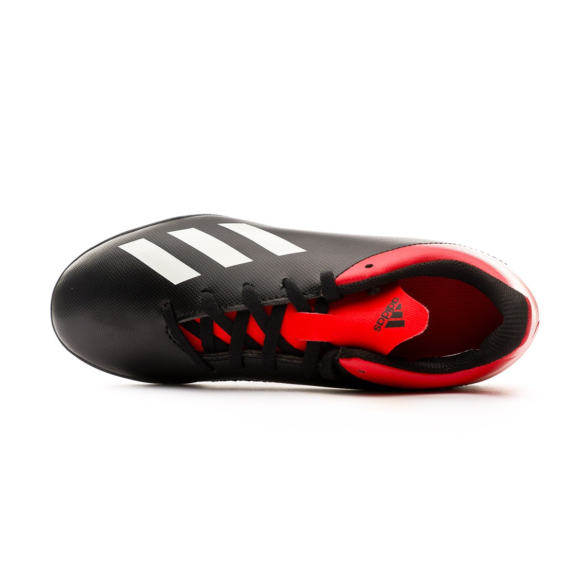 ccbc29ec5 Football Boot adidas Kids X Tango 18.4 Turf Core black-Off white-Active red  - Tienda de fútbol Fútbol Emotion