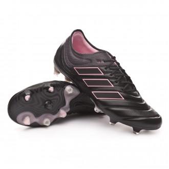 Chaussure de foot  adidas Copa 19.1 FG Mujer Core black-Grey six