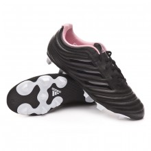 Chuteira Copa 19.4 FG Mulher Core black-Clear-True pink