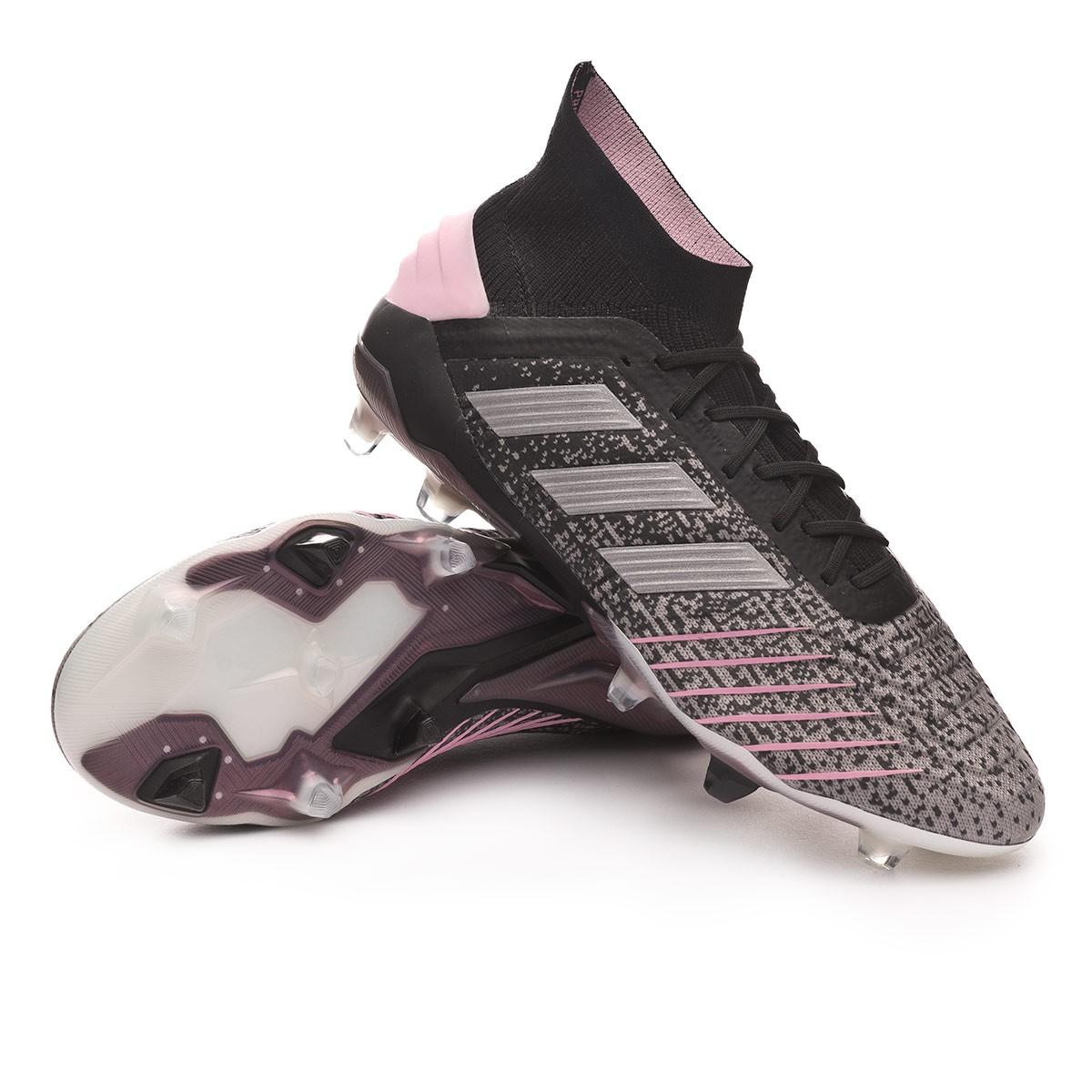 best value 088b1 68494 Football Boots adidas Women Predator 19.1 FG Core black-Silver  metallic-Solid grey - Tienda de fútbol Fútbol Emotion
