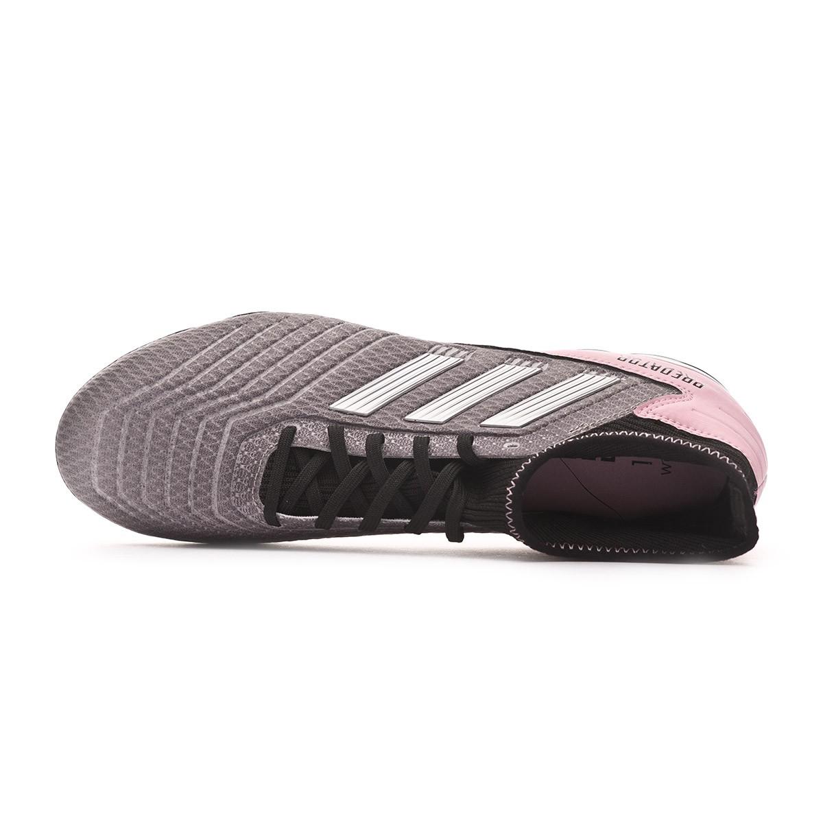 d9eacb14a Football Boots adidas Predator 19.3 FG Mujer Grey three-Silver metallic-Core  black - Tienda de fútbol Fútbol Emotion