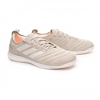 Zapatilla  adidas Copa 19+ TR Off White-White-Solar Red